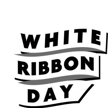 White Ribbon Day Logo