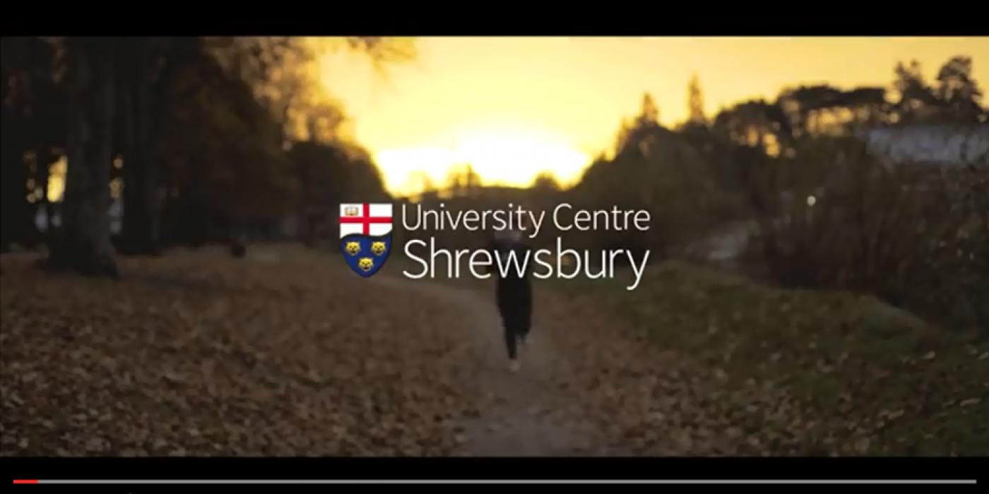 office centre video. Video Shows Shrewsbury At Its Best   Press Office University Centre