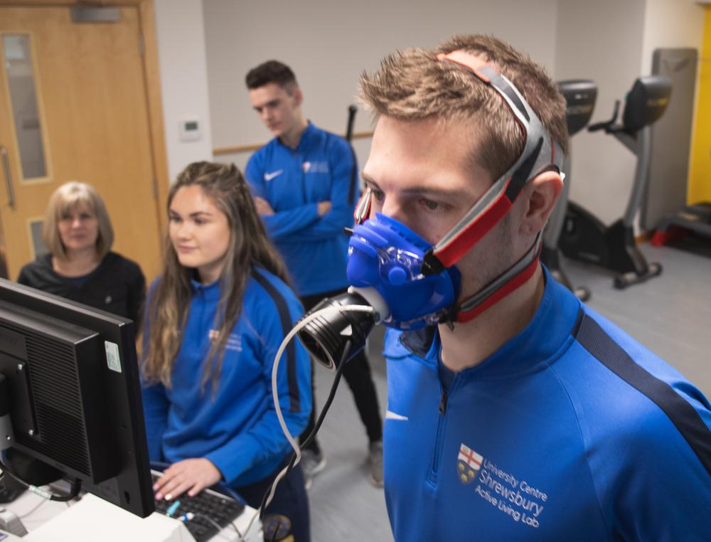 University Centre Shrewsbury Health and Exercise Science